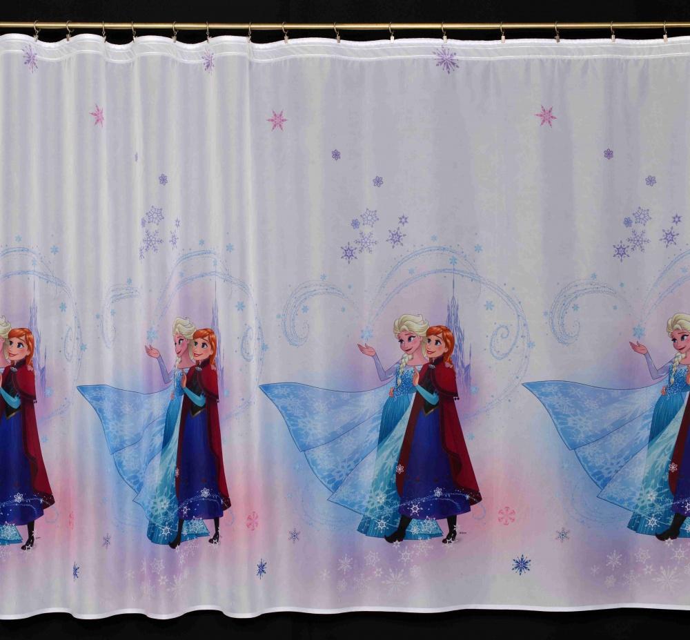 Dětská záclona Ledové království