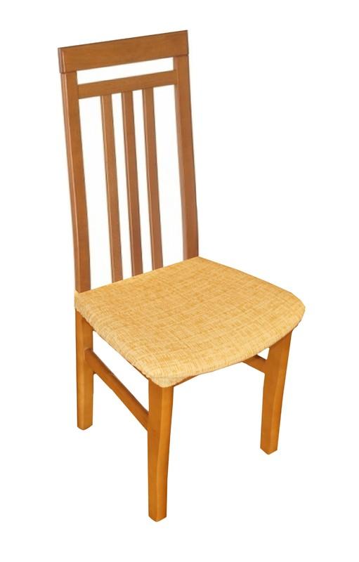 Potahy na židle Andrea - žlutá 2 ks