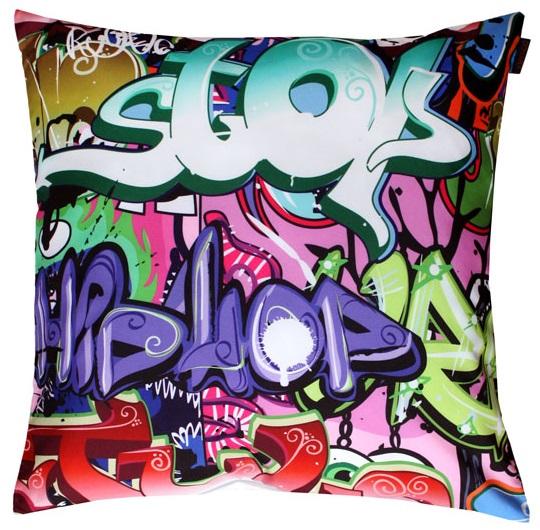 Dětský polštářek Grafiti